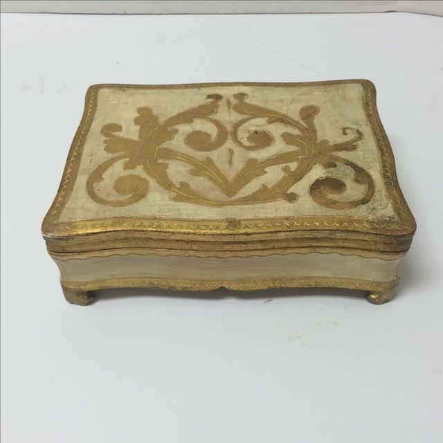 Italian Florentine Keepsake Box - Image 2 of 8