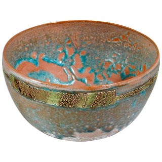 Verdugo Woodlands Earthenware Bowl by Andrew Wilder, 2018 For Sale