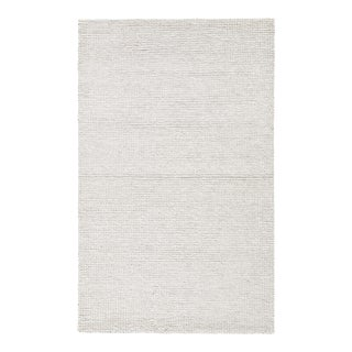 Jaipur Living Braiden Handmade Light Gray Area Rug - 5′ × 8′ For Sale