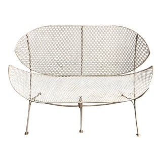 Maurizio Tempestini for Salterini Orange Slice Bench For Sale
