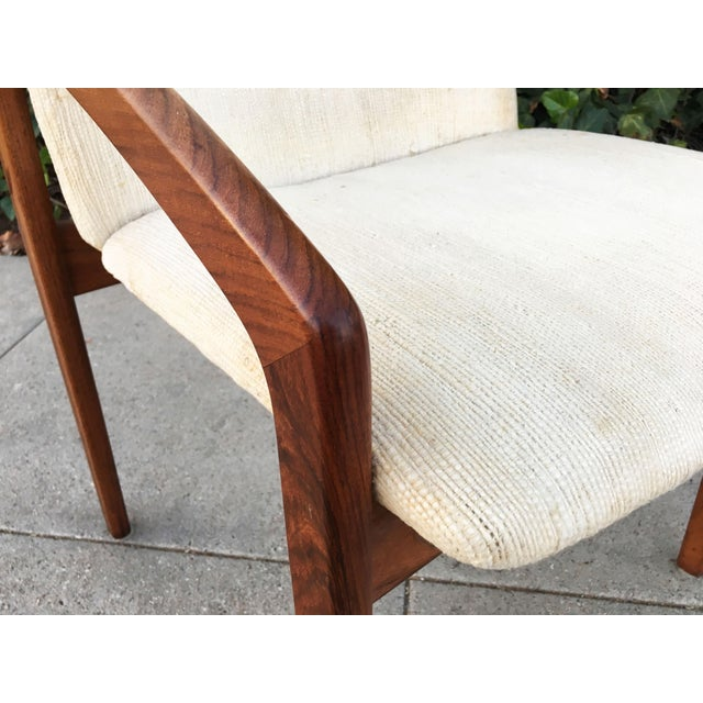 Kai Kristiansen for Korup Stolefabrik Mid-Century Modern Carver Rosewood Dining Chairs - Set of 6 For Sale In Los Angeles - Image 6 of 7
