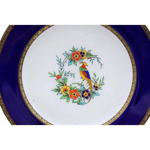 Minton Hand-Painted Parrot Plates, S/5 - Image 2 of 3