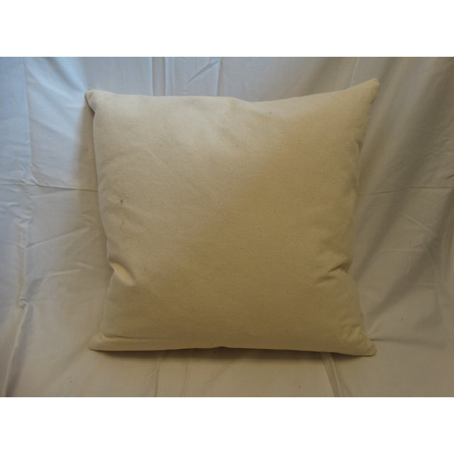 Art Deco Embroidered Pillow - Image 3 of 3