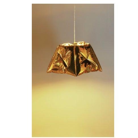 Dent Gold Metallic Pendant Light - Image 2 of 2