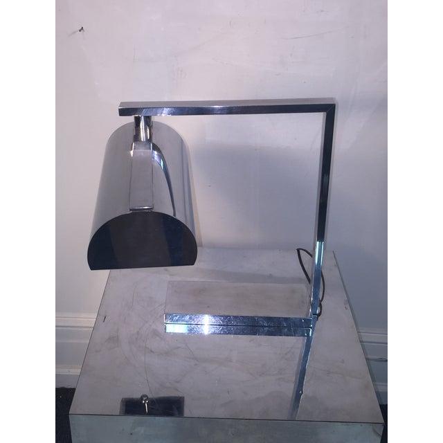 1930s Superb Rare Modernist Art Deco Desk Lamp For Sale - Image 5 of 10