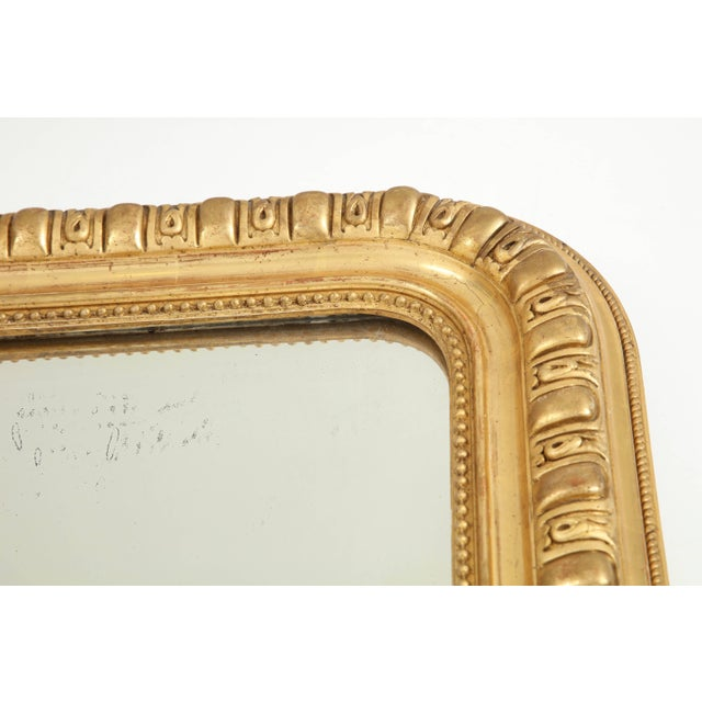 Giltwood Louis Philippe Mirror For Sale In New York - Image 6 of 9