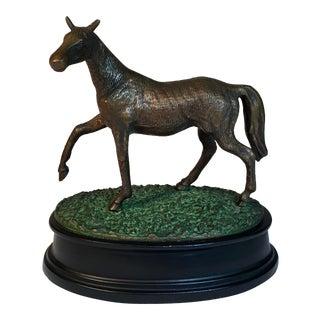 Figurative Bronze Equestrian Horse Statue For Sale