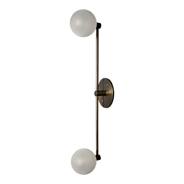Segment Wall Lamp or Flushmount Ceiling Fixture by Blueprint Lighting For Sale