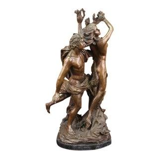 Apollo and Daphne Mythical Greek Mythology Bronze Sculpture