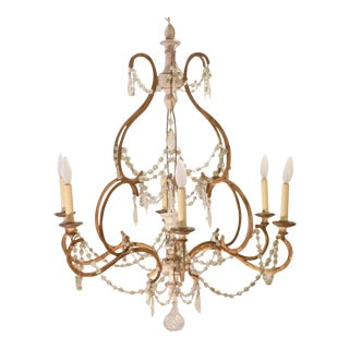 19th C. Italian Chandelier For Sale