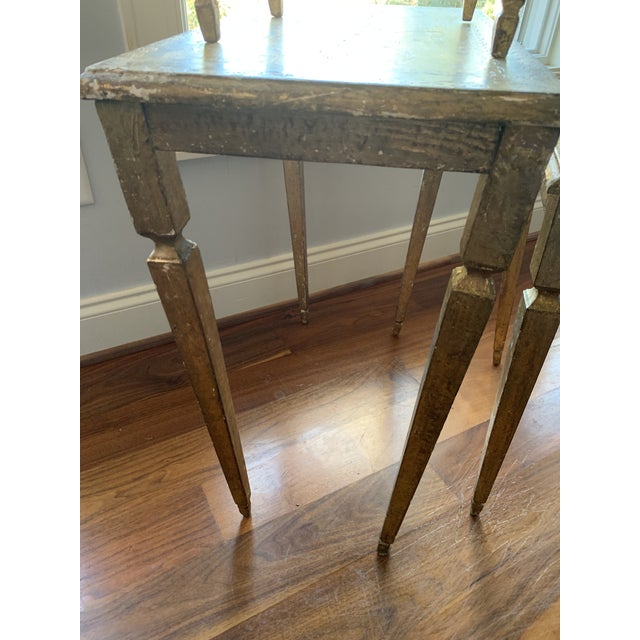 1940s French Nesting Tables - Set of 3 For Sale - Image 9 of 11