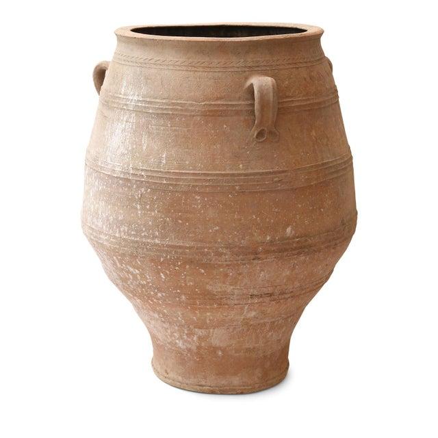 1910s Antique Greek Olive Jar For Sale - Image 5 of 12