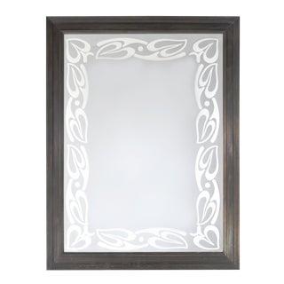 Art Nouveau Style Mirror by Babette Holland Design For Sale