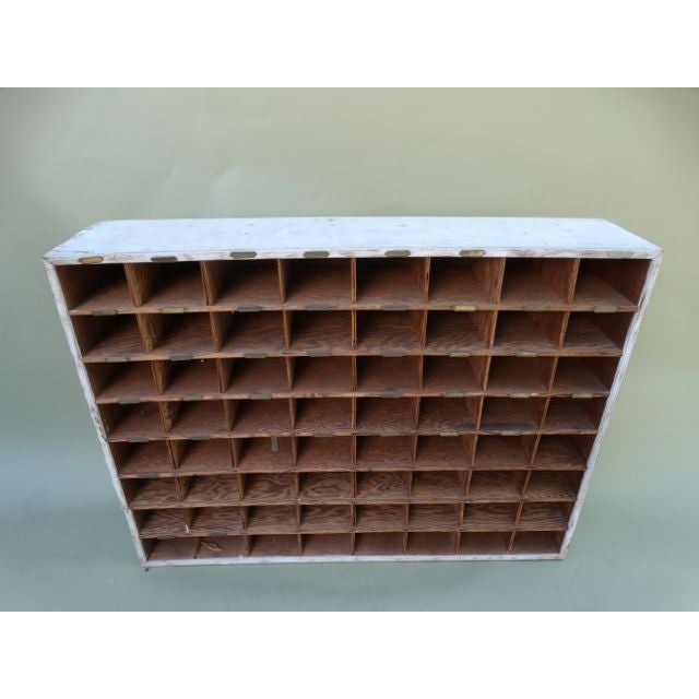Vintage Hotel Mail Sorter/Wine Cubby - Image 3 of 5