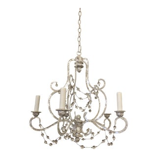 New Niermann Weeks Five Light Avignon Chandelier For Sale