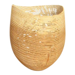 Contemporary Pascal Oudet Small Natural Vase For Sale