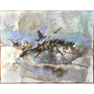 1980s Mixed Media Abstract Patricia Zippin For Sale