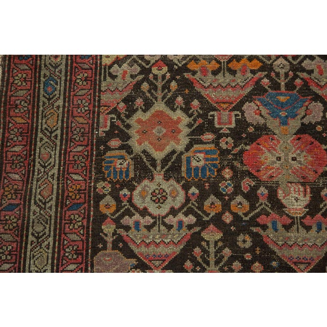 "Textile Antique Malayer Rug - 3'7"" x 6'6"" For Sale - Image 7 of 10"
