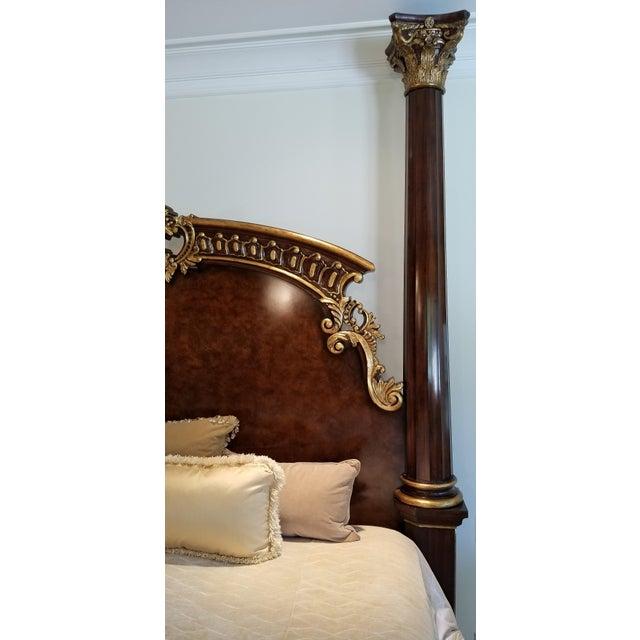 2010s Traditional Henredon Arabesque Bedframe For Sale - Image 5 of 13