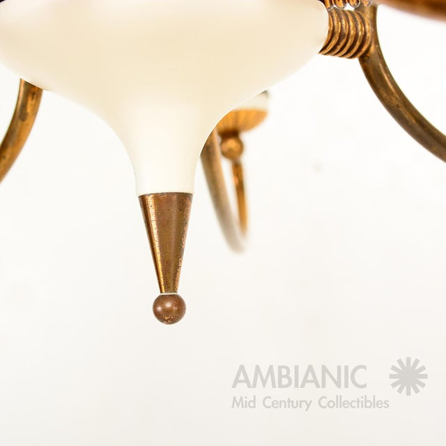 16 Arm Italian Chandelier For Sale - Image 9 of 10