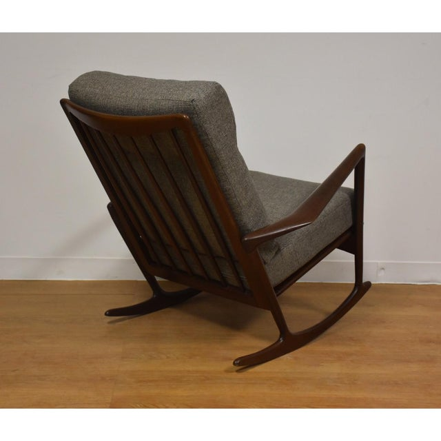 Ib Kofod Larsen for Selig Rocking Chair - Image 3 of 11