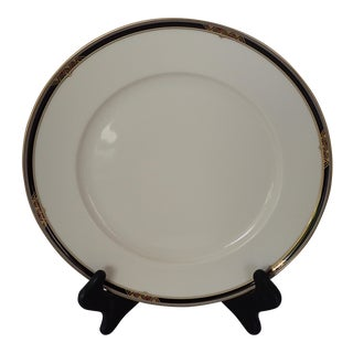 Elegant Fine Porcelain Art Deco Design Charger/Dinner Plate
