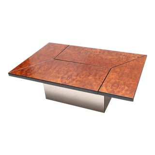Rizzo Burl Bar Coffee Table For Sale