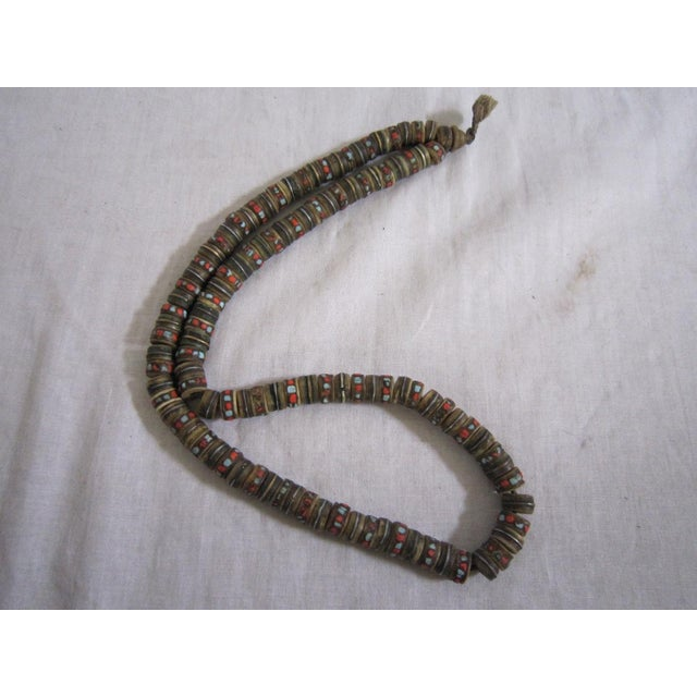 African Currency Bone Trade Beads - Image 5 of 6