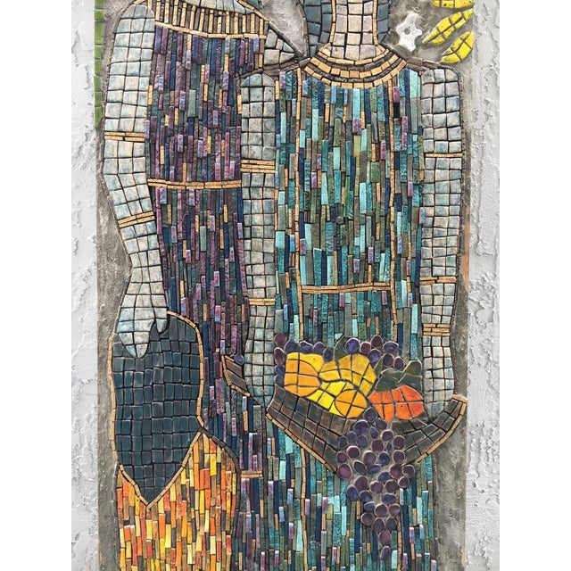 1980s Figurative Mosaic Wall Piece For Sale - Image 5 of 8