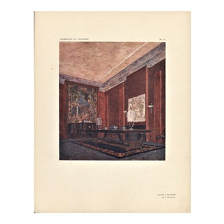 Art Deco Interior Design by Ruhlmann For Sale