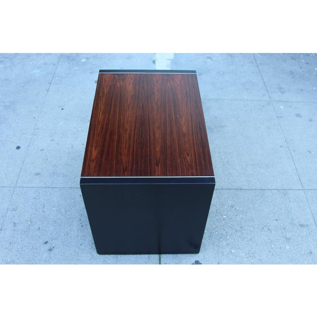 Robert Baron Glenn of California Rosewood Nightstand - Image 4 of 9