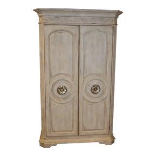 Large Bernhardt Neo-Classic Style 2 Door Armoire