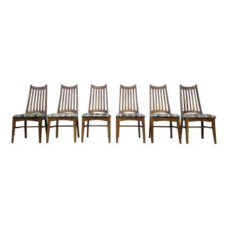 Vintage Mid Century Dining Chairs - Set of 6