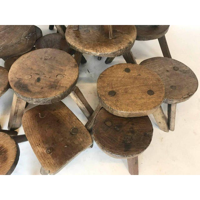 Country 19th Century Milking Stools For Sale - Image 3 of 7