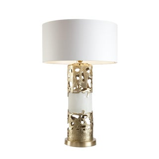 Romi Small Gold Table Lamp Christine Rouviere For Sale