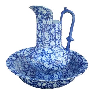 Victoria Ware Bowl & Pitcher For Sale