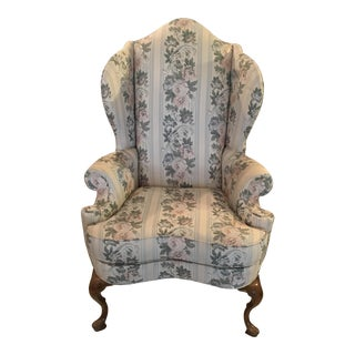 Pennsylvania House Chippendale Style Wingback Chair For Sale
