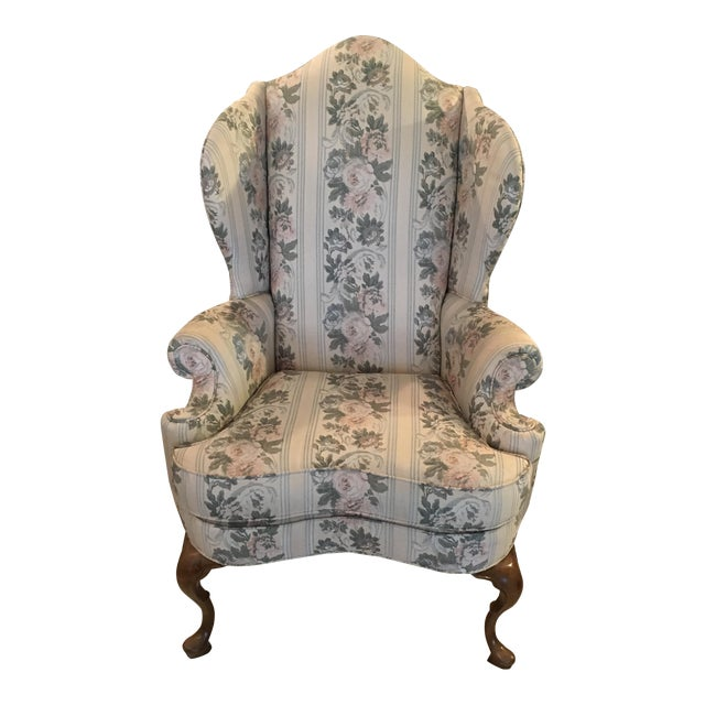 Pennsylvania House Chippendale Style Wingback Chair - Image 1 of 10
