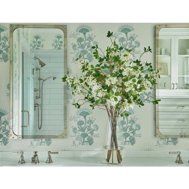 Bring a room to life with nature all year long without the fuss of fresh blooms with this beautiful blossom and leaf...
