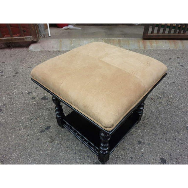 1900s Antique Austrian Stool For Sale - Image 4 of 6