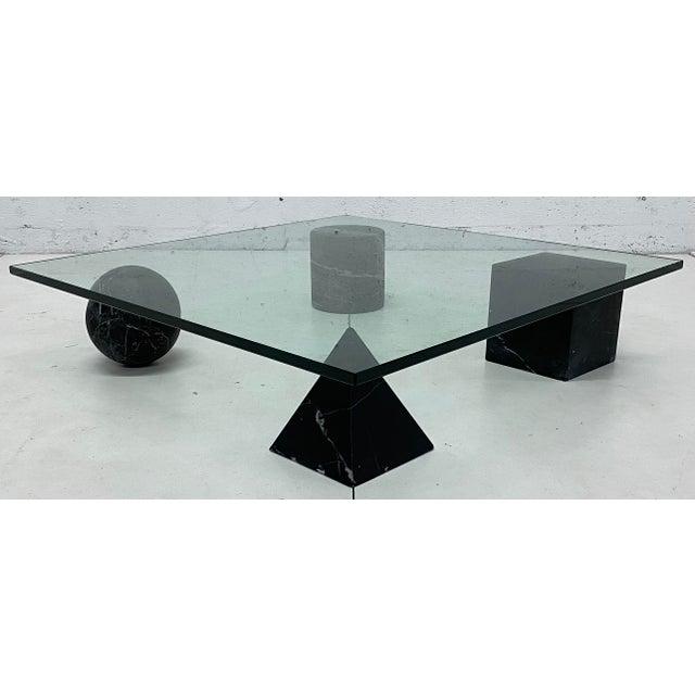 Lella and Massimo Vignelli Metafora Coffee Table for Casigliani, 1979 For Sale - Image 11 of 11
