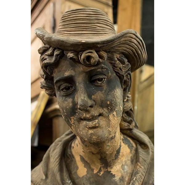 English Terra Cotta Statue