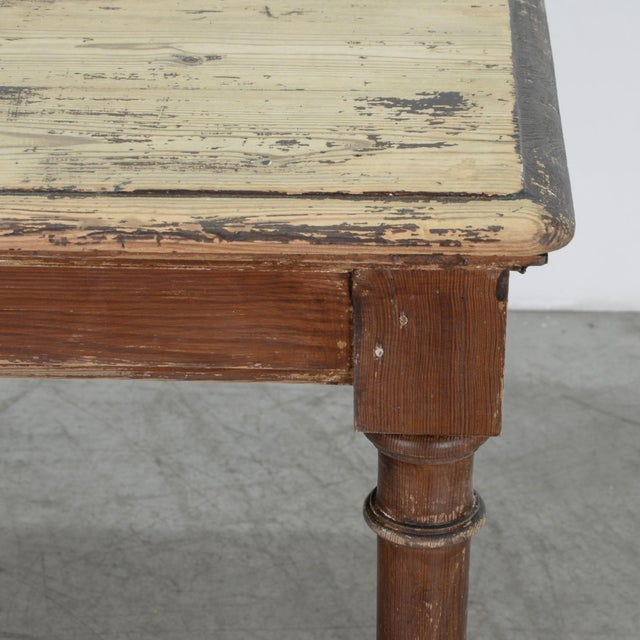 Antique Belgian Side Table For Sale - Image 9 of 10