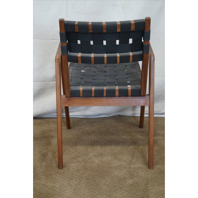 Knoll Studio Jens Risom Mid Century Arm Chair - Image 4 of 10