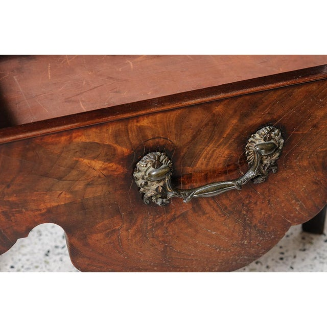 Antique English Night Stand For Sale - Image 4 of 9