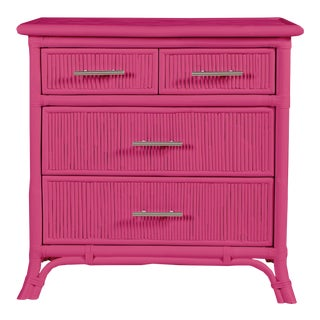 Aruba Four-Drawer Chest - Bright Pink For Sale