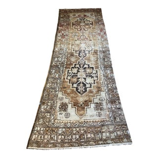 Vintage Turkish Oushak Runner - 2′11″ × 8′2″