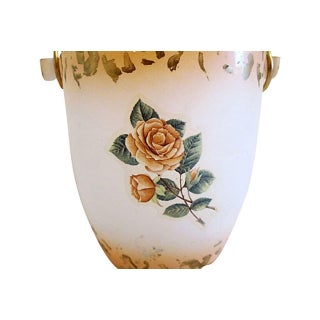 Mid-Century Murano Cottage Rose Ice Bucket Preview