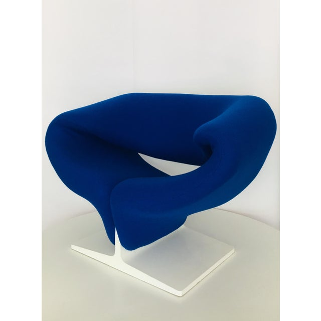 Mid-Century Modern 1960s Vintage Pierre Paulin for Artifort Space Age Ribbon Lounge Chair For Sale - Image 3 of 9