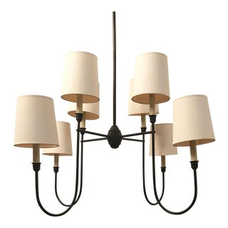 Thomas O'Brien Vendome Chandelier For Sale
